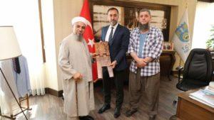 Dernek yönetimimiz Belediye Başkanı Volkan Yılmaz'ı ziyaret etti